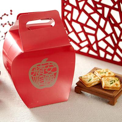 大蘋果禮盒 小蘋果禮盒 粉幸福禮盒-1