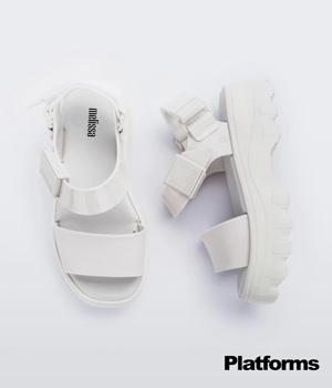 platforms厚底涼鞋