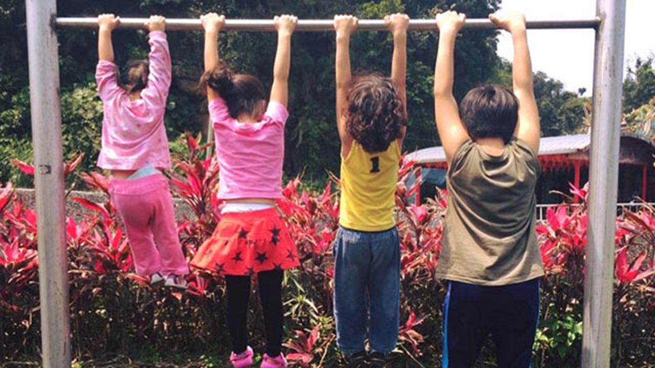  兒童健康 活力十足的四寶們與樂恩芬營養補給軟糖-2