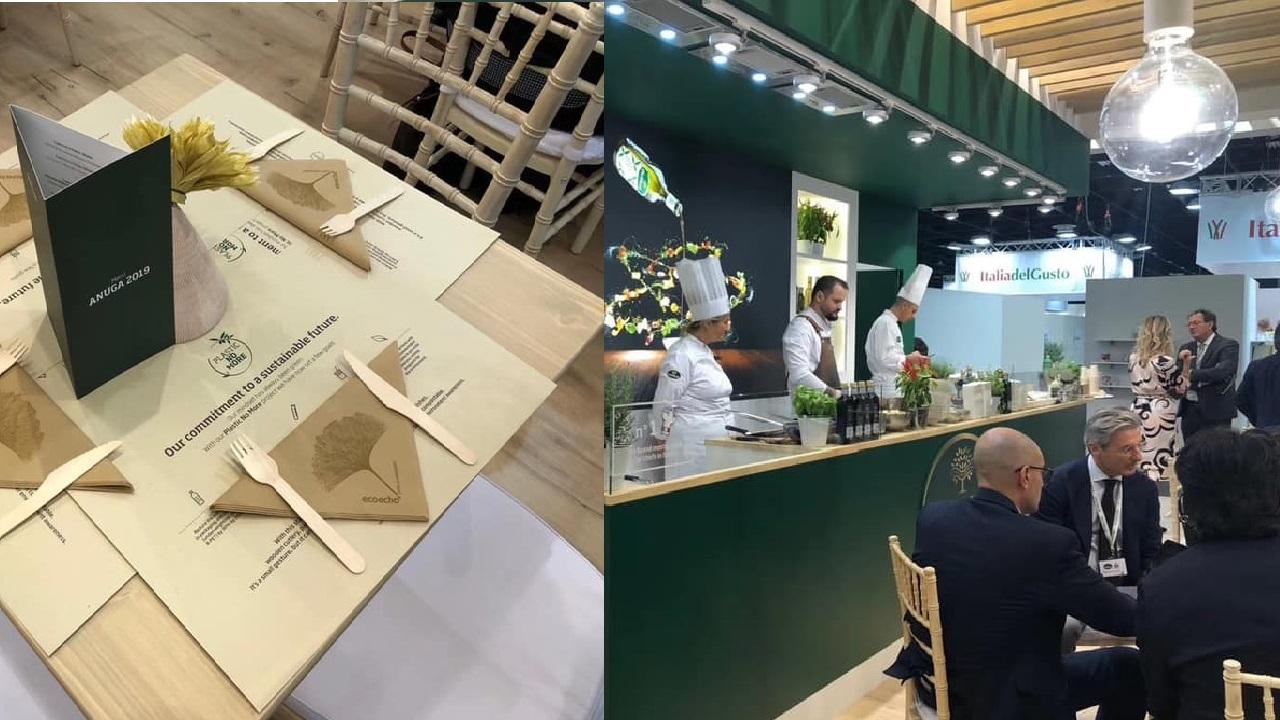 最多義大利主廚使用的橄欖油品牌 奧利塔Olitalia展位上邀請主廚輪番上陣秀廚藝-2