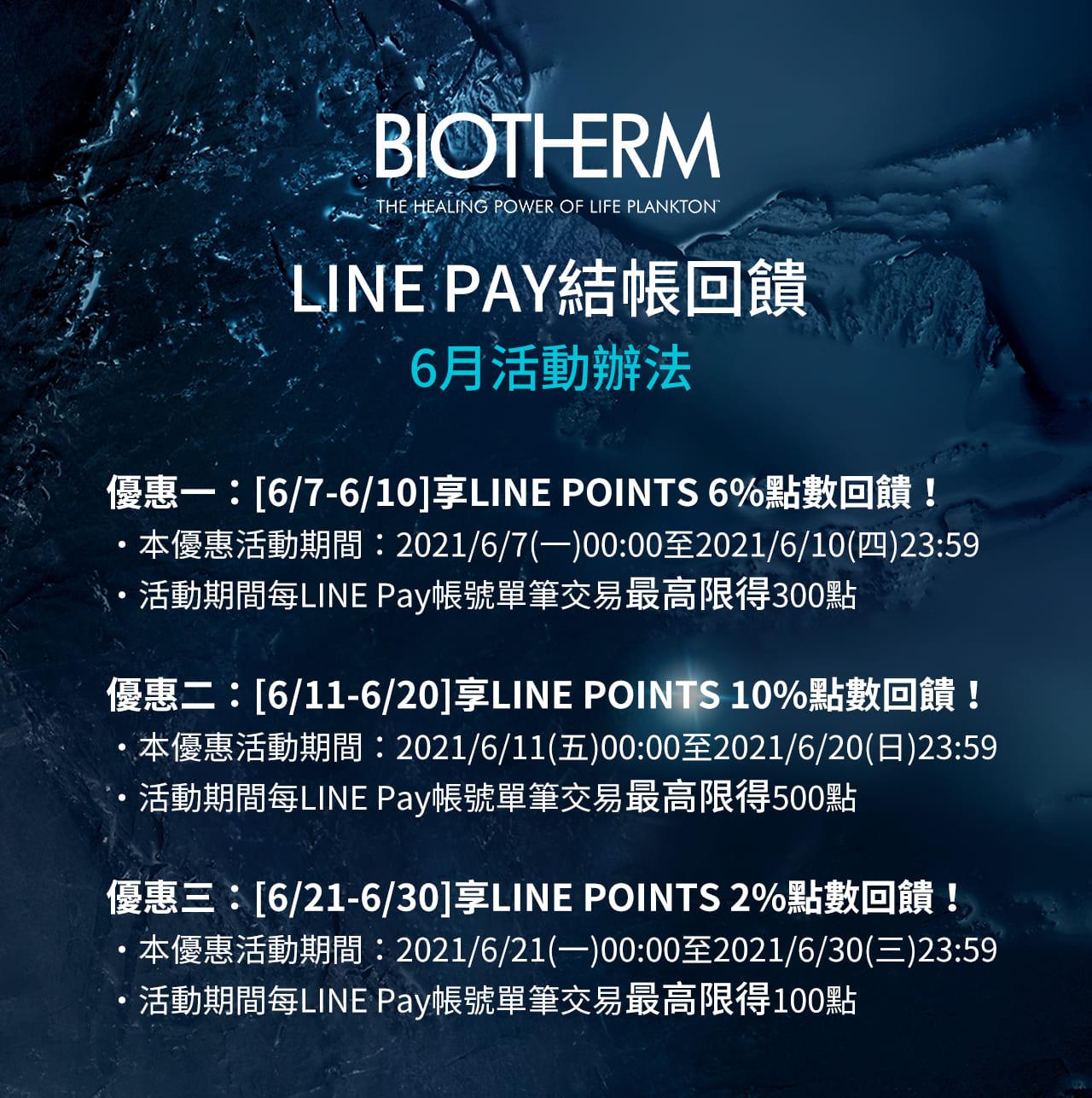 碧兒泉LINE Pay回饋