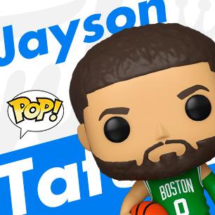 NBA POP 傑森泰坦 Jayson Tatum 大頭公仔