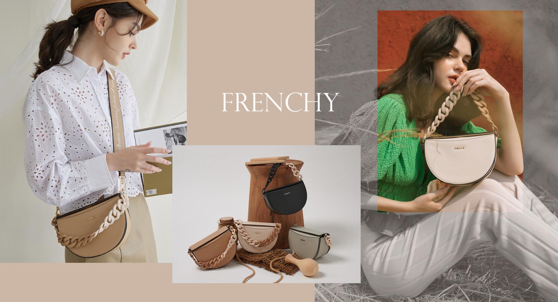 VEMAR, 馬鞍包, 秋冬包款, 寬背帶, 側背包, 手提包